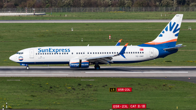 A picture of TCSNT - Boeing 7378HC - SunExpress - © Jonas Effgen