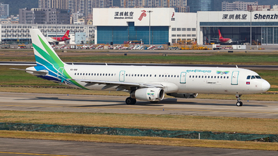 A picture of XU919 - Airbus A321231 - Lanmei Airlines - © jixiangheima