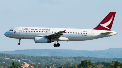 B-HST - Airbus A320-232 - Cathay Dragon