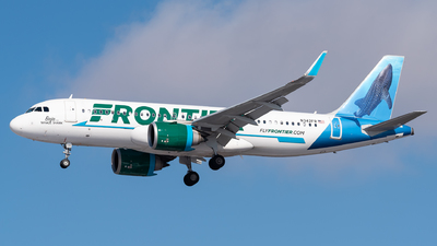 A picture of N342FR - Airbus A320251N - Frontier Airlines - © Evan Dougherty