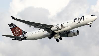 DQ-FJU - Airbus A330-243 - Fiji Airways