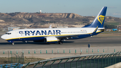 A picture of EIEKY - Boeing 7378AS - Ryanair - © Mateo León