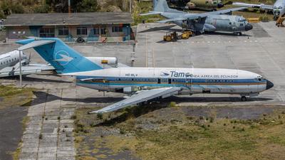 HC-BLV - Boeing 727-17 - TAME Ecuador