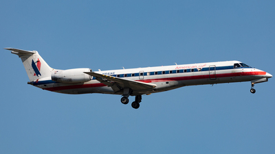 A picture of N841AE - Embraer ERJ140LR - American Airlines - © HAOFENG YU