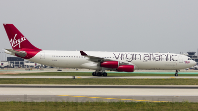 G-VFAR - Airbus A340-313X - Virgin Atlantic Airways