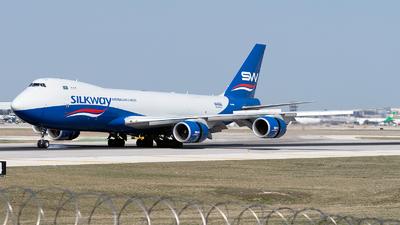 VQ-BBM - Boeing 747-83QF - Silk Way Airlines