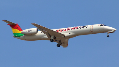 9G-AFR - Embraer ERJ-145LI - Africa World Airlines