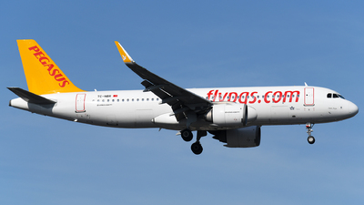 A picture of TCNBR - Airbus A320251N - Pegasus Airlines - © Stefan Kuhn