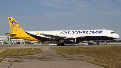 SX-ACP - Airbus A321-231 - Olympus Airways