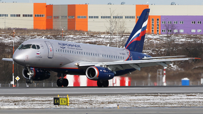 A picture of RA89125 - Sukhoi Superjet 10095B - Aeroflot - © ShipSash