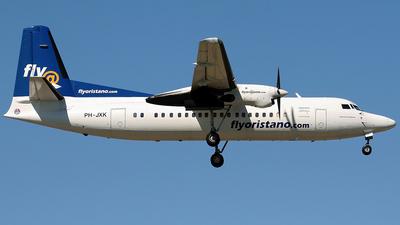 PH-JXK - Fokker 50 - FlyOristano