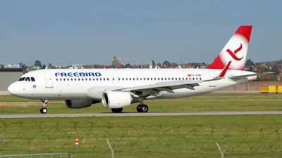 TC-FHN - Airbus A320-214 - Freebird Airlines