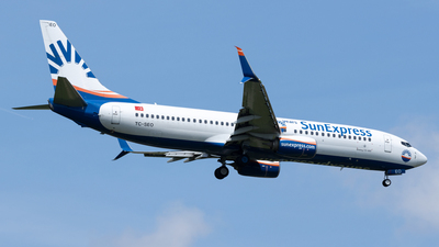 A picture of TCSEO - Boeing 7378HC - SunExpress - © Michael Knüfer