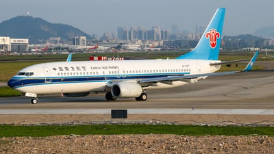 A picture of B1407 - Boeing 73781B - China Southern Airlines - © libohang