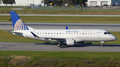 A picture of N133SY - Embraer E175LR - United Airlines - © DJ Reed - OPShots Photo Team