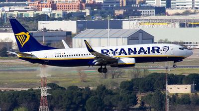 A picture of EIDYZ - Boeing 7378AS - Ryanair - © Alejandro Gutierrez Martin