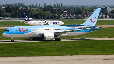 A picture of OOLOE - Boeing 7878 Dreamliner - TUI fly - © subing27