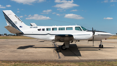 A picture of VHWGS - Cessna 404 Titan - [4040686] - © Michael Walter