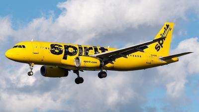N642NK - Airbus A320-232 - Spirit Airlines