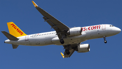 A picture of TCNBH - Airbus A320251N - Pegasus Airlines - © Furkan Borakazi