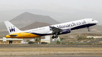 G-OZBO - Airbus A321-231 - Monarch Airlines