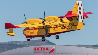 UD13-21 - Canadair CL-215T - Spain - Air Force