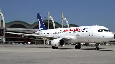 TC-JUE - Airbus A320-232 - AnadoluJet
