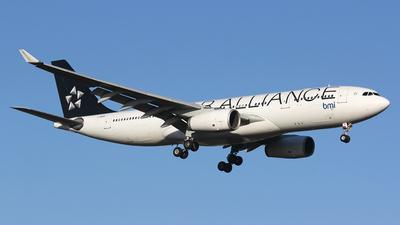 G-WWBM - Airbus A330-243 - bmi British Midland International