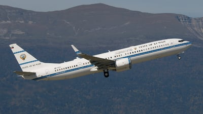 9K-GCC - Boeing 737-9BQ(BBJ3) - Kuwait - Government
