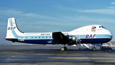G-AOFW - Aviation Traders ATL-98 Carvair - British Air Ferries (BAF)