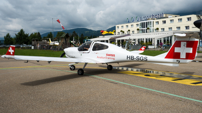 HB-SGS - Diamond DA-40NG Diamond Star - Swiss Aviation Training