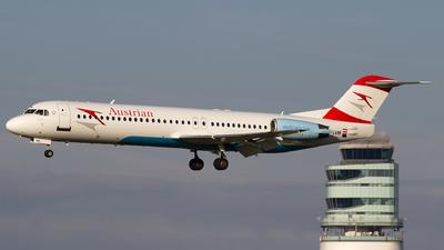 A picture of OELVM - Fokker 100 - [11396] - © Bernd K