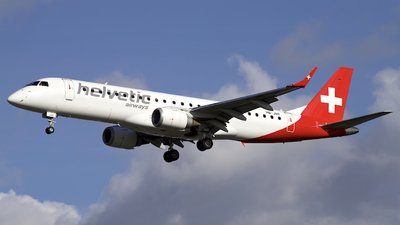 HB-JVP - Embraer 190-100LR - Helvetic Airways