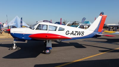 G-AZWS - Piper PA-28R-180 Cherokee Arrow - Lyneham Flying Club