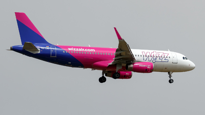 A picture of HALWZ - Airbus A320232 - Wizz Air - © Oliver Richter