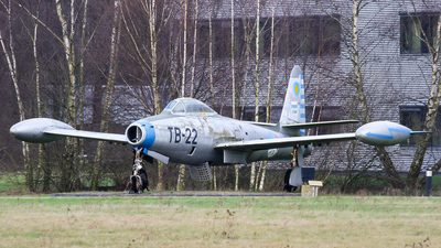 K-167 - Republic F-84G Thunderjet - Netherlands - Royal Air Force