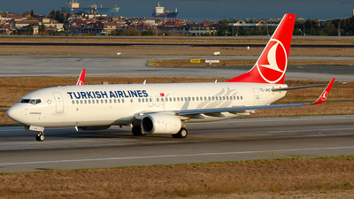 TC-JHO - Boeing 737-8F2 - Turkish Airlines