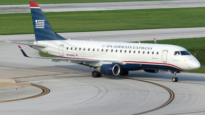 N116HQ - Embraer 170-200LR - US Airways Express (Republic Airlines)