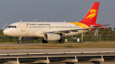 B-6180 - Airbus A319-132 - Capital Airlines