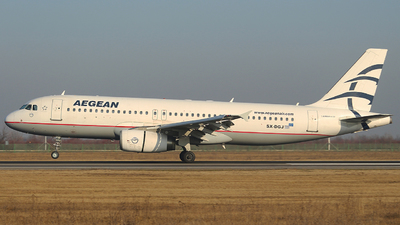 A picture of SXDGJ - Airbus A320232 - Aegean Airlines - © Calin Horia Lupu