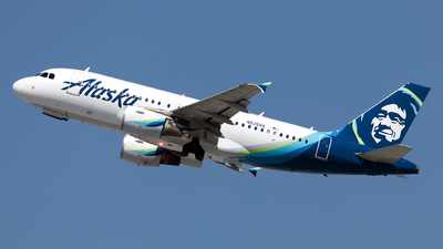 N526VA - Airbus A319-112 - Alaska Airlines