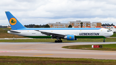 UK67001 - Boeing 767-33P(ER)(BCF) - Uzbekistan Airways Cargo