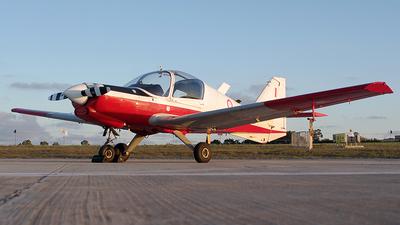 AS0021 - Scottish Aviation Bulldog T.1 - Malta - Armed Forces