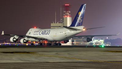 TC-ACM - Boeing 747-428ERF - Saudi Arabian Airlines Cargo (MyCargo)