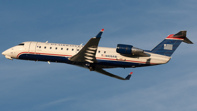 N406AW - Bombardier CRJ-200ER - US Airways Express (Air Wisconsin)