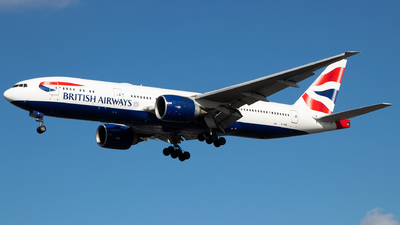 G-VIIB - Boeing 777-236(ER) - British Airways