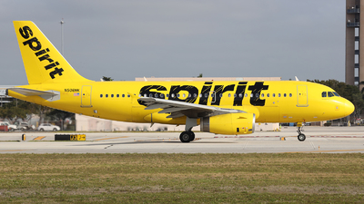 A picture of N506NK - Airbus A319132 - Spirit Airlines - © Arno Vesterholm