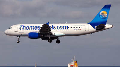 G-BYTH - Airbus A320-231 - Thomas Cook Airlines