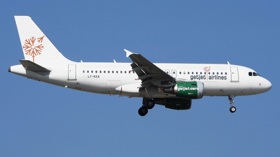LY-KEA - Airbus A319-112 - GetJet Airlines
