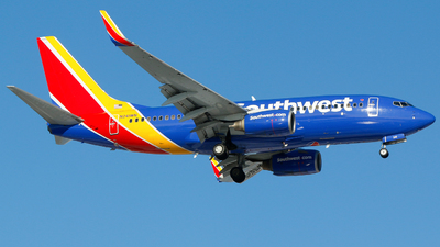 A picture of N241WN - Boeing 7377H4 - Southwest Airlines - © Alec Mollenhauer